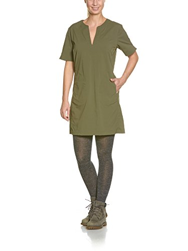 Tatonka Gora W's Dress Robe pour Femme FR:42 Vert Baroque