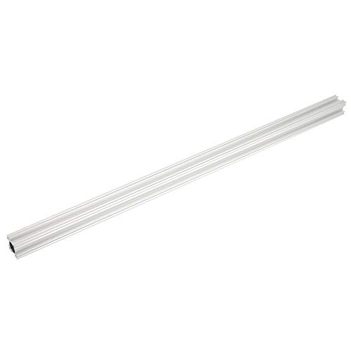 T Slot Linear Rail, Aluminum Extrusion Profile Linear, for 3D Printer Parts and Workbench CNC DIY, 24mm x 24mm x 528mm