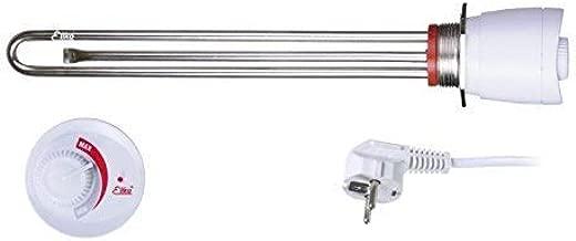 ELIKO GRBT 2kW 2000W 230V 5//4 Chauffage /électrique avec thermostat /à la chaudi/ère Appareil de chauffage pour r/éservoir deau R/ésistance /électrique pour ballon bouilleurs