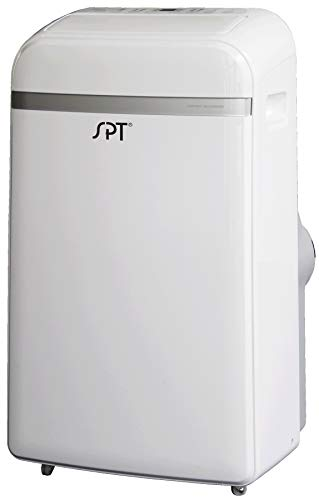 SPT WA-P903E: 14,000BTU Portable Air Conditioner with Dehumidifier and Fan for up to 350 sq. ft. with Remote Control