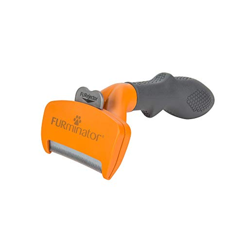 Furminator deShedding Tool for Dogs, Undercoat Brush for Medium Long Hair Dogs, Orange (P-92956FL)