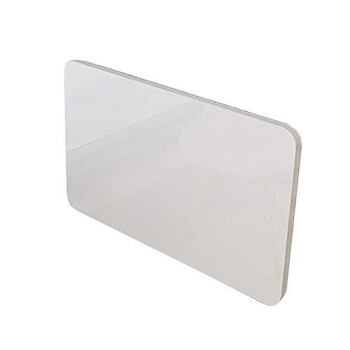Składany stół ścienny, mocowany do ściany, stół składany, stół kuchenny, stół składany, biurko, biurko komputerowe do małych pomieszczeń (biały) (rozmiar: 120 x 50 cm)