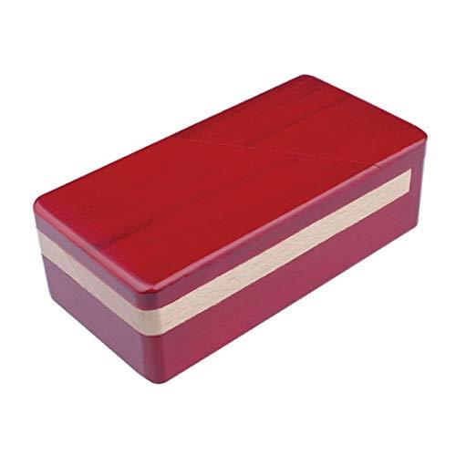 Moraphee Holzpuzzle Box Rätsel Secret Jewellry Geschenkbox für Weihnachten