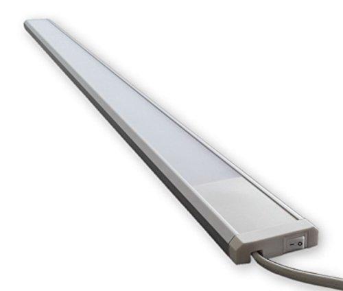 230V LED Licht Leiste 19W (120 cm) inkl. An/Aus Schalter S47 - inkl. Netzstecker