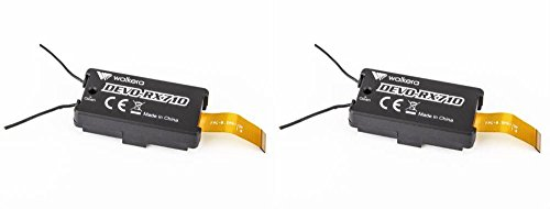 HobbyFlip 250-Z-18 Receiver RX Module Quad-Copter DEVO-RX710 Compatible with Walkera Runner 250 Racer 2 Pack