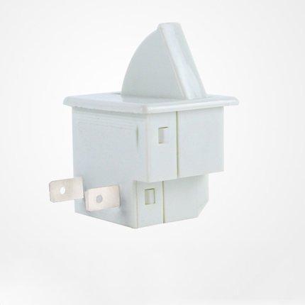 Tastenschalter Lichtschalter Wippschalter Schalter für Innenbeleuchtung Kühlschrank, side-by-side, Kühl-Gefrierkombination BAUKNECHT, WHIRLPOOL, INDEST, usw