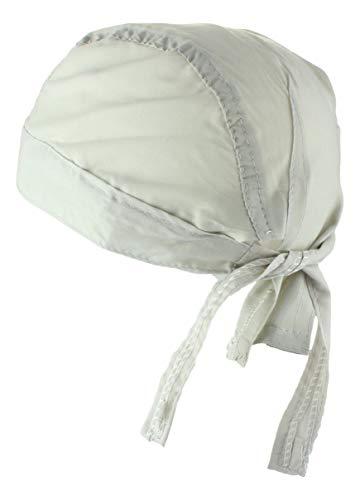Alex Flittner Designs Bandana Cap unifarben weiß