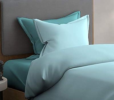 DreamLine Cotton 144 TC Bedsheet (Single_Blue)