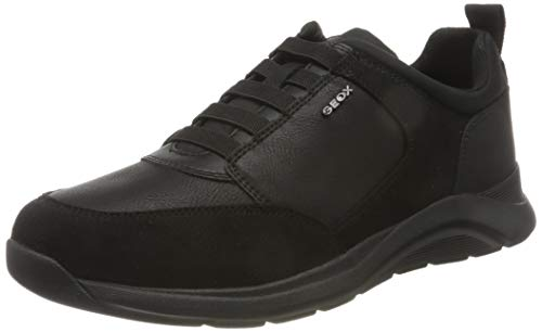 GEOX U DAMIANO D BLACK Men's Trainers Low-Top Trainers size 46(EU)