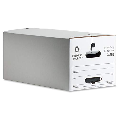 Business Source Med-Duty String/Button Storage Box (Pack of 4)