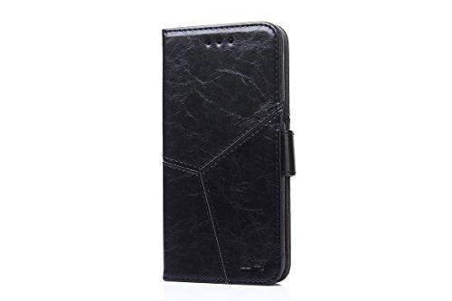 PJBK Tasche für Sony Xperia Z6 Flip Hülle Cover Ledertasche für + TPU Silikon Fixierung Cover PJBK