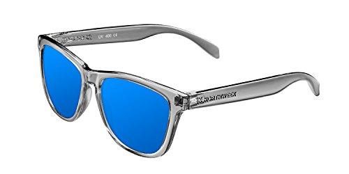 NORTHWEEK Regular Jolla - Gafas de Sol para Hombre y Mujer, Polarizadas, Gris/Azul