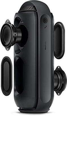 Philips BT6700B/00 Tragbarer, kabelloser Lautsprecher (Bluetooth, Multipair, 12W) schwarz