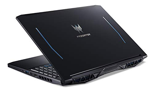 Acer Predator Helios 300 Gaming Laptop PC, 15.6' Full HD 144Hz 3ms IPS Display, Intel i7-9750H, GeForce GTX 1660 Ti 6GB, 16GB DDR4, 256GB NVMe SSD, Backlit Keyboard, PH315-52-78VL