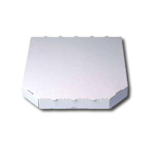 26x26x4,2cm 100 Pizzakartons Pizzaboxen Weiss Kraft 4,2cm hoch verschiedene Gr/ö/ßen zur Auswahl