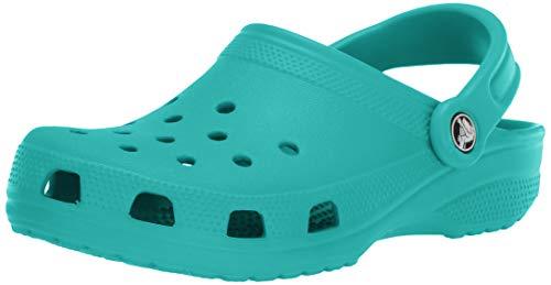 Crocs Classic Clog Zuecos Unisex Adulto Azul (Tropical Teal 3N9) 43-44