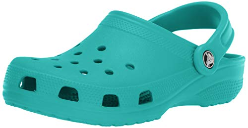 Crocs Classic, Sabot Unisex Adulto, Blu (Tropical Teal), 36/37 EU