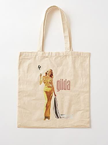 Générique 1940S Movie 1946 Old RKO Rita Gilda Movies Hayworth Star | Einkaufstaschen aus Segeltuch mit Griffen, Einkaufstaschen aus robuster Baumwolle
