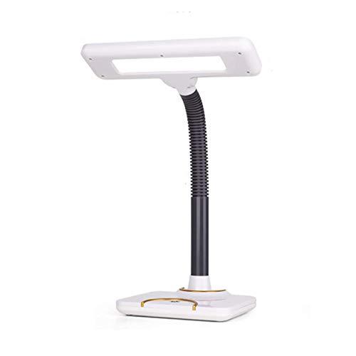 Lámpara de Mesa Lámpara de Mesa Vintage Lámpara de Escritorio LED con 3 Modos de iluminación Luces de Lectura para el hogar y la Oficina, 360 & deg;Cuello de Cisne Flexible, luz de Escritor