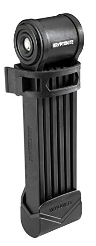 E-Bike Keeper Folding Lock by Kryptonite – Compact and Easy to Carry , Black