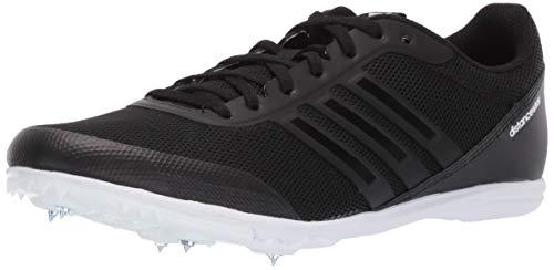 adidas Women's Distancestar, Black/Black/White, 11 M US