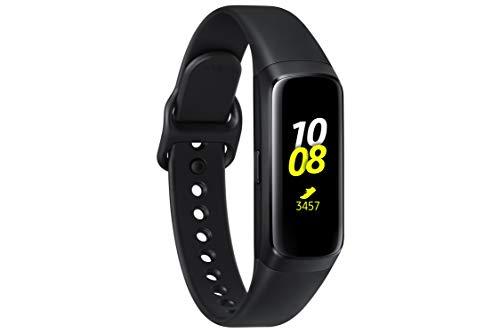 Samsung Galaxy Fit, Fitnesstracker, schwarz, mit Bluetooth, Farbdisplay, Pulsmesser und Schlafanalyse