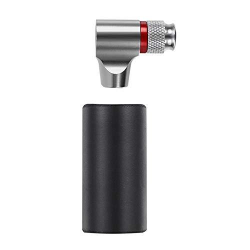 Adaptador de la bomba de bicicletas, mini portátil de aleación de aluminio...