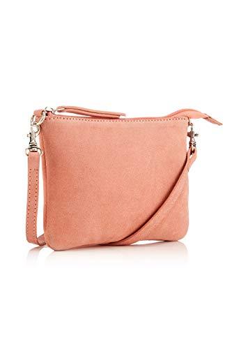 The Handbag Edit - Crossbody Pouch, Bolsos bandolera Mujer, Rosa (Coral), 1x17x13 cm (W x H L)