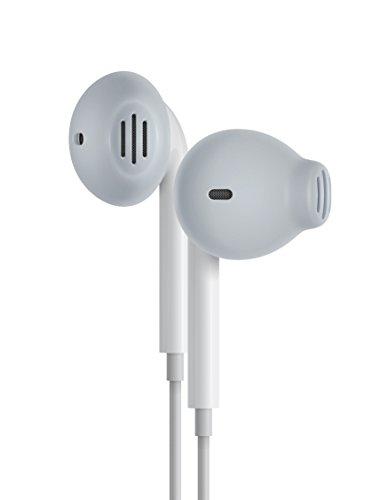 EarSkinz EarPod Covers (ES2) - Smoke - for Apple iPhone X / 8/7 / 6S / 6 / 5S / 5SE / 5C / 5