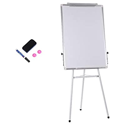 Easel White Board, Magnetic Tripod Whiteboard P...
