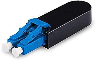 LC Fiber Optic Loopback Adapter - LC Singlemode 9/125 - Blue