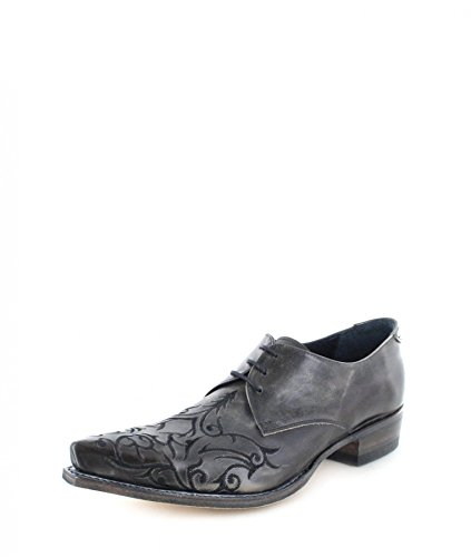 Sendra Boots 7650 Grau Westernschuh Schnürschuh