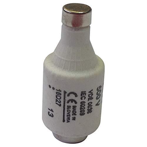 16D27 | BUSSMANN SICHERUNG-D2 16A T GL/GG 500VAC E27