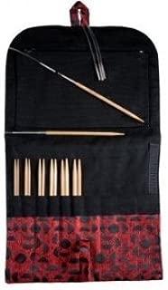 Hiya Hiya BAMBOO Interchangeable Knitting Needles: SMALL-5 inch tips