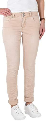 Buena Vista - Damen Jeans Hose Tummyless Stretch Twill - Größe M