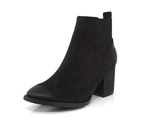 Blondo Womens Noa Black Nubuck Boot - 6