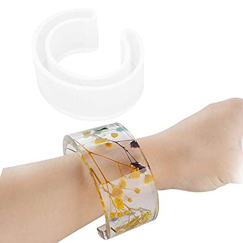Molde de silicona tipo C pulsera de resina pulsera molde de joyería que hace herramientas de artesanía de bricolaje