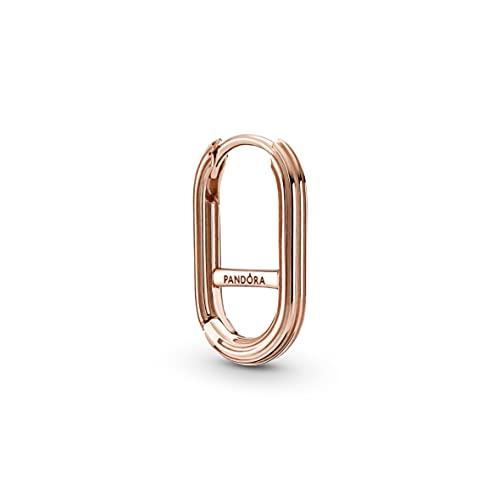 Pandora ME Link 289657C00 - Pendientes de aleación de metal chapado en oro rosa de 14 quilates, compatibles con pulseras Pandora ME, altura: 17 mm
