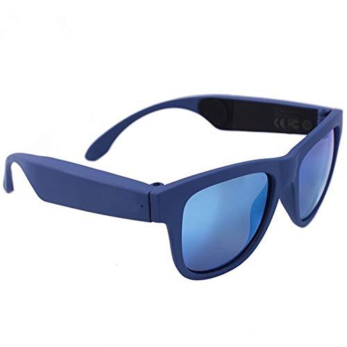XuBa G1, Occhiali da Sole a conduzione ossea, con Pannello Touch e Filtro UV, con Denti Blu 4.0 per Accessori CE