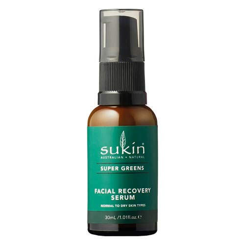 SUKIN Super Greens Facial Recovery Serum 30 ml Creme