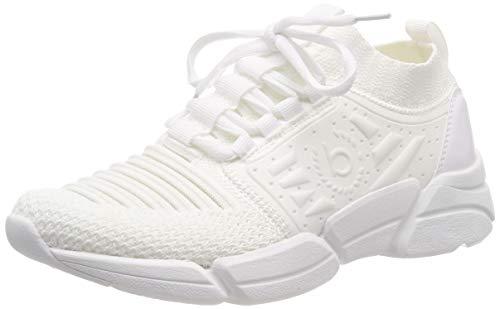 bugatti Damen 431668606969 Slip On Sneaker Weiß (White 2020), 36 EU