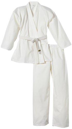 Kwon Karategui Karateanzug Renshu - Traje Completo de Artes Marciales (Uniforme), Color Blanco, Talla DE: 170