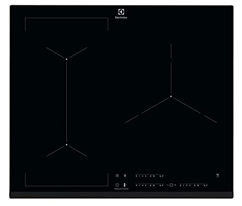 Electrolux EIV633 hobs Negro Integrado Con - Placa (Negro, Integrado, Con placa de inducción, 2300 W, 21 cm, 3700 W)