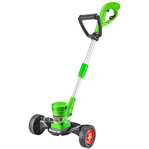 QILIN Elektrischer Rasenmäher: Maximal 300 M², Schnittbreite 23 cm, Verstellbarer Lenker, Geräuscharm, Ergonomischer Griff