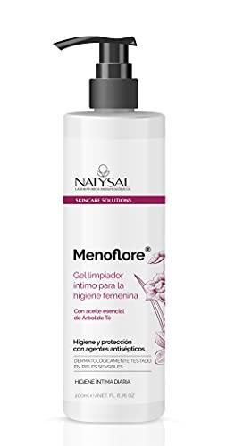 Menoflore Gel higiene íntima Natysal 200 ml