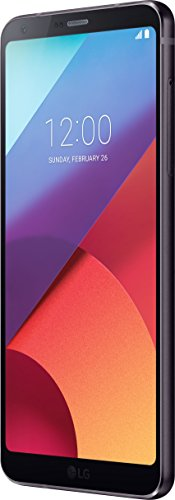 LG Mobile G6 Smartphone 5,7 pollici, QHD Plus Full Vision Display, Snapdragon 821 2,35 Ghz, 4GB RAM, Memoria 32 GB, Android 7.0, nero [EU]