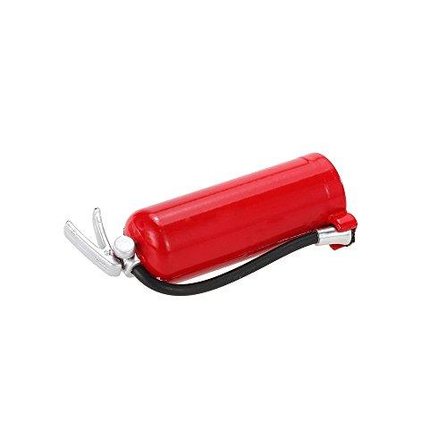 perfeclan Extintor Rojo De Plástico para 1/10 D90 D110 TF2 RC