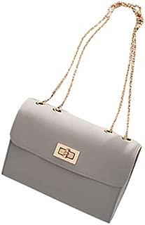 TOOGOO Fashion Small Square Bag Mobile Phone Messenger Bag Black