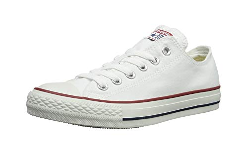 Converse Unisex Chuck Taylor All Star Low Basketball Shoe (39-40 M EU/8.5 B(M) US Women/6.5 D(M) US Men, Optical White)