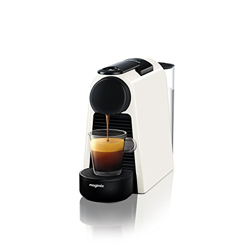 Nespresso 11365 Essenza Mini Coffee Machine, Pure White Finish by Magimix